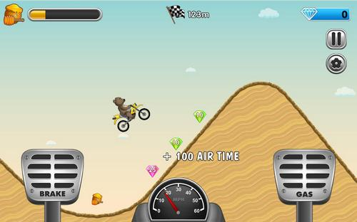 Jogue Bear race para Android. Jogo Bear race para download gratuito.