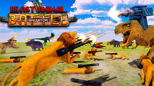 Beast animals kingdom battle: Epic battle simulator poster