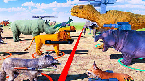 Beast animals kingdom battle: Epic battle simulator screenshot 2