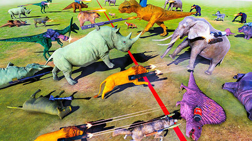 Écrans de Beast animals kingdom battle: Epic battle simulator pour tablette et téléphone Android.