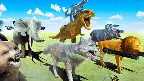 Screenshots von Beast animals kingdom battle: Epic battle simulator für Android-Tablet, Smartphone.