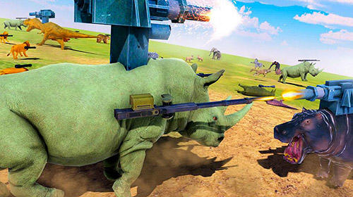 Геймплей Beast animals kingdom battle: Epic battle simulator для Android телефону.