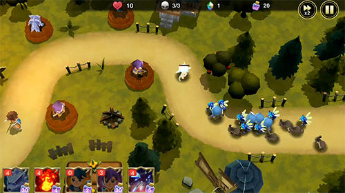 Screenshots von Beast quest: Ultimate heroes für Android-Tablet, Smartphone.