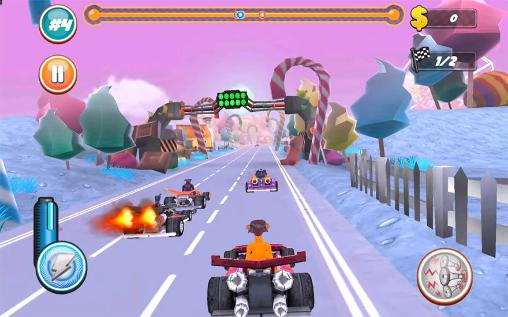 Screenshots von Beasty karts für Android-Tablet, Smartphone.