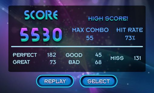 Screenshots von Beat hero: Be a guitar hero für Android-Tablet, Smartphone.