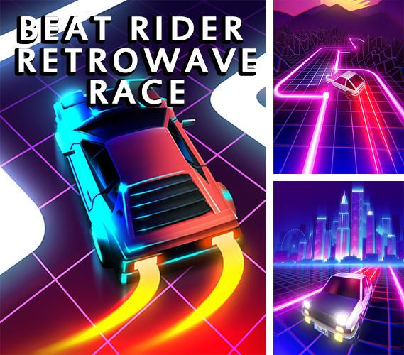 Beat rider: Retrowave race