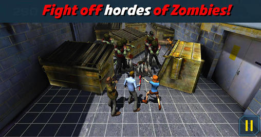 Screenshots do Because zombies - Perigoso para tablet e celular Android.