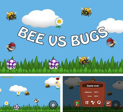 Bee vs bugs: Funny adventure