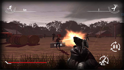Jogue Behind zombie lines para Android. Jogo Behind zombie lines para download gratuito.