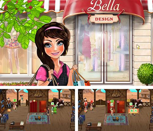 In addition to the game Restaurant story: Founders for Android phones and tablets, you can also download Bella fashion design for free.