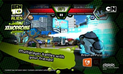 Download Ben 10 Xenodrome Android free game.