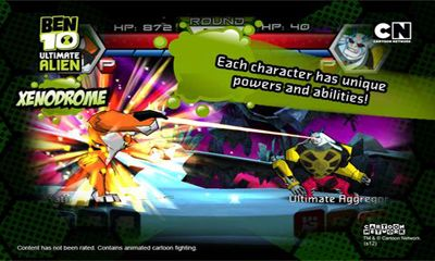Get full version of Android apk app Ben 10 Xenodrome for tablet and phone.
