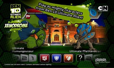 Screenshots do Ben 10 Xenodrome - Perigoso para tablet e celular Android.