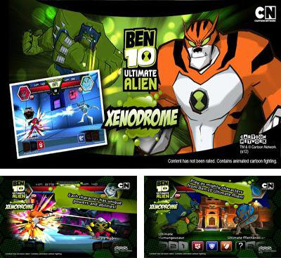 In addition to the game TMNT:  Rooftop run for Android phones and tablets, you can also download Ben 10 Xenodrome for free.