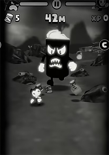 Screenshots von Bendy in nightmare run für Android-Tablet, Smartphone.
