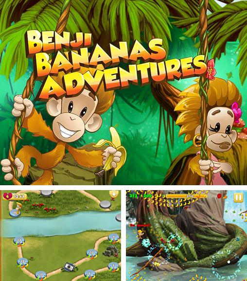 In addition to the game Tap The Frog for Android phones and tablets, you can also download Benji bananas adventures for free.