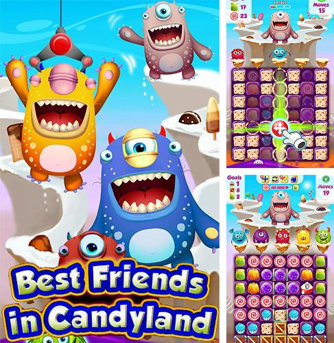 Best friends in candyland