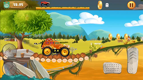 Screenshots von Best monster truck climb up für Android-Tablet, Smartphone.