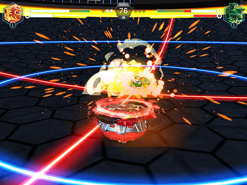 Screenshots do Beyblade burst - Perigoso para tablet e celular Android.