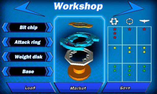 Beyblade HD screenshot 2