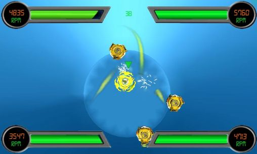 Screenshots von Beyblade HD für Android-Tablet, Smartphone.