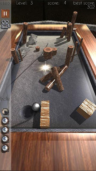 Beyond pool 3D: Hole in one screenshot 1