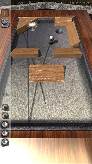 Beyond pool 3D: Hole in one screenshot 3