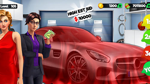 Jogue Bidding wars: Pawn shop auctions tycoon para Android. Jogo Bidding wars: Pawn shop auctions tycoon para download gratuito.