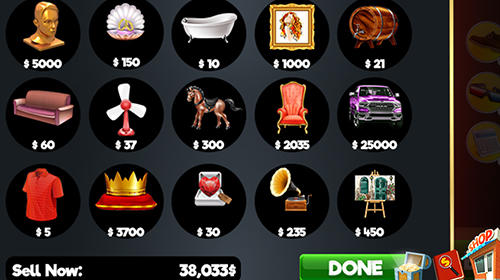 Screenshots do Bidding wars: Pawn shop auctions tycoon - Perigoso para tablet e celular Android.