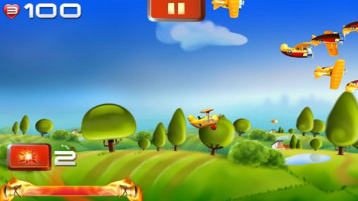 Download Big air war Android free game.