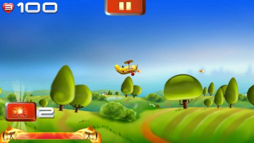 Screenshots of the Big air war for Android tablet, phone.