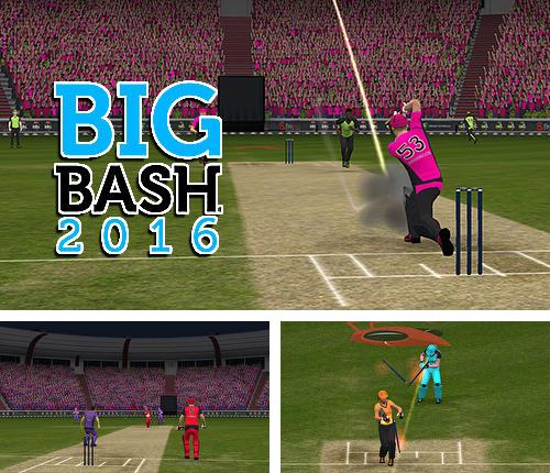 In addition to the game Cricket World Cup Fever HD for Android phones and tablets, you can also download Big bash 2016 for free.