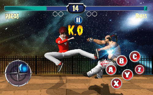 Big fighting game screenshot 2