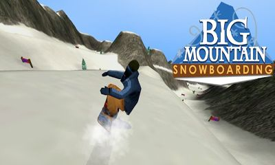 Big Mountain Snowboarding  poster