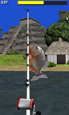 玩安卓版Big River Fishing 3D。免费下载游戏。