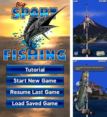 In addition to the game Fishing Kings for Android phones and tablets, you can also download Big Sport Fishing 3D for free.