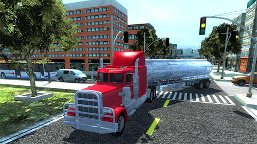 Screenshots do Big truck hero 2: Real driver - Perigoso para tablet e celular Android.