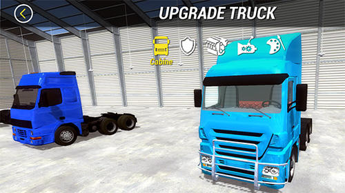 Screenshots von Big truck hero 2: Real driver für Android-Tablet, Smartphone.