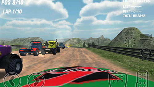 Big truck rallycross screenshot 3