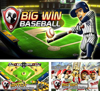 In addition to the game Homerun Battle 3d for Android phones and tablets, you can also download Big Win Baseball for free.
