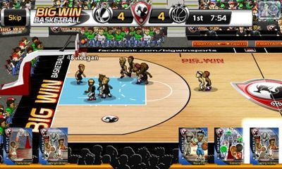 Screenshots von Big Win Basketball für Android-Tablet, Smartphone.