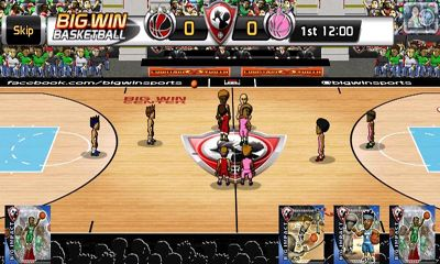 Big Win Basketball скриншот 2