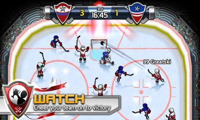 Juega a Big Win Hockey 2013 para Android. Descarga gratuita del juego La gran victoria Hockey 2013 .