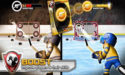 Screenshots von Big Win Hockey 2013 für Android-Tablet, Smartphone.