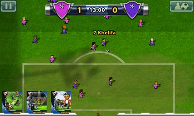 Гра Big Win Soccer на Android - повна версія.