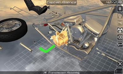 Bike Disassembly 3D скриншот 2