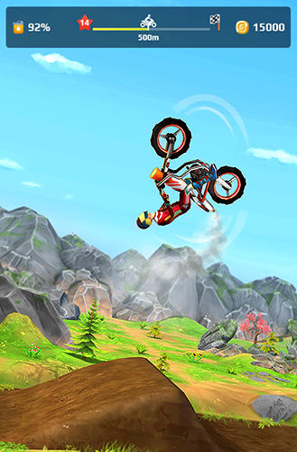 Screenshots von Bike flip hero für Android-Tablet, Smartphone.