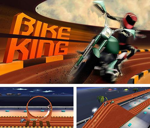 In addition to the game Angry truck canyon hill race for Android phones and tablets, you can also download Bike king for free.