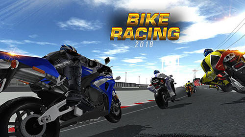 Bike racing 2018: Extreme bike race poster