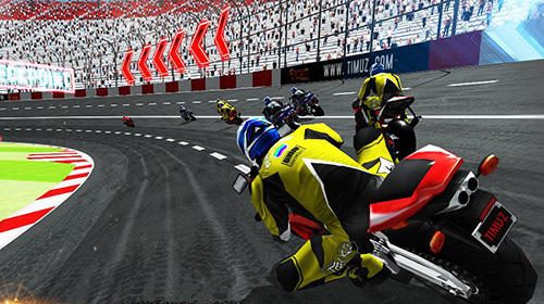 Screenshots von Bike racing 2018: Extreme bike race für Android-Tablet, Smartphone.
